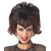 Wig Goth Flip Black Burgundy